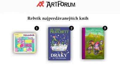Najpredávanejšie knihy v Artforum