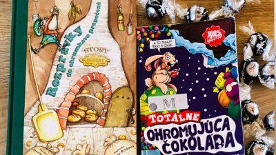 Čokoláda v detských knihách